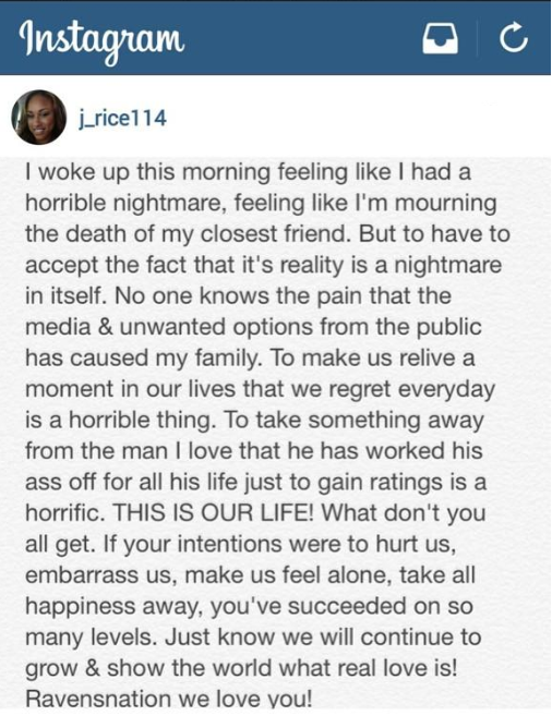 Ray Rice Instagram