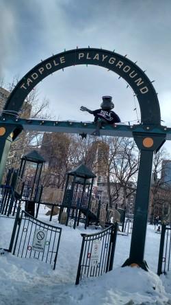 Patriots Statues