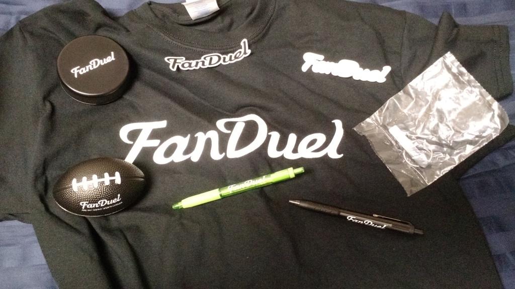 FanDuel Swag Bag Items
