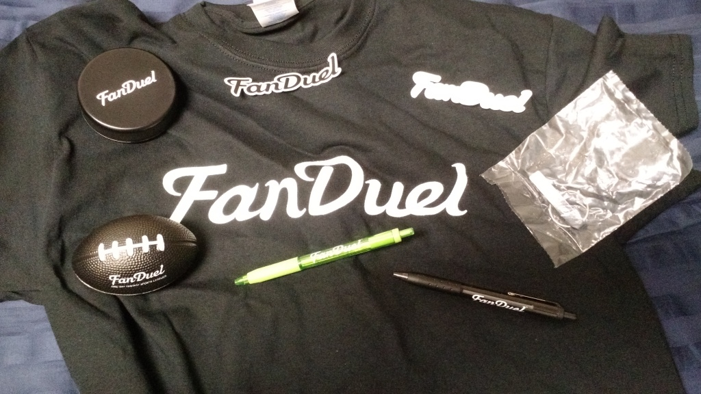 FanDuel Swag Bag Items