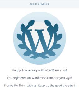 WP 1 Year