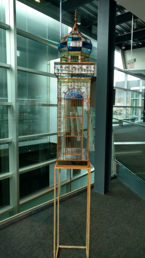 Glass Birdcage