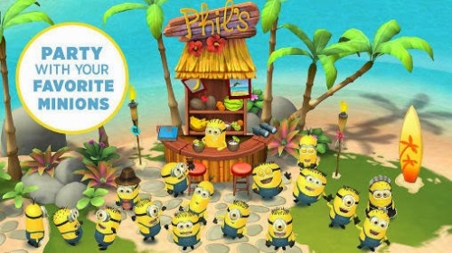 Minions Paradiseas Party