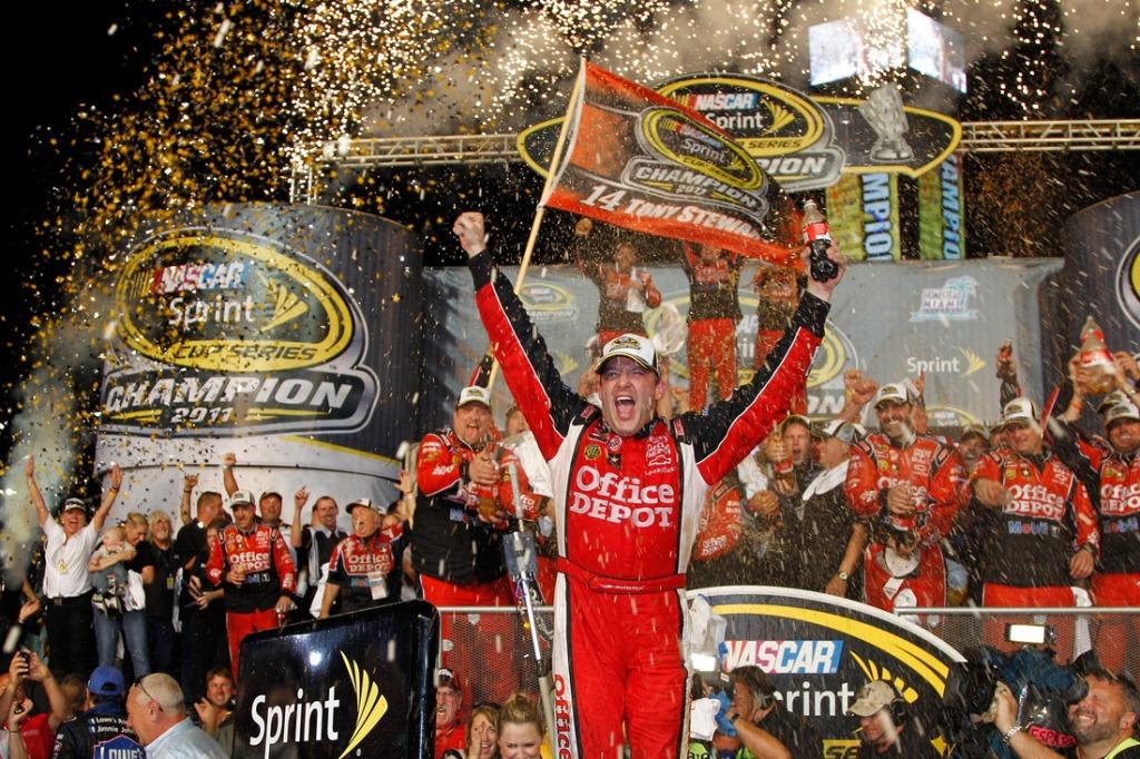 Tony Stewart 2011 Champion