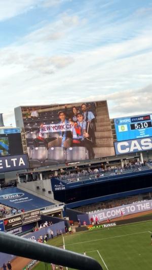 Yankee Stadium Me On Screen