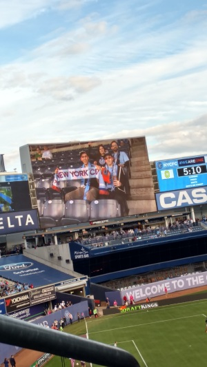 Yankee Stadium Me On Screen