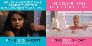 Big Short Selena Gomez