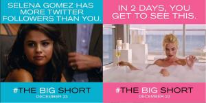 Big Short Selena Gomez