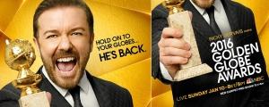 Golden Globes Ricky Gervais 2016