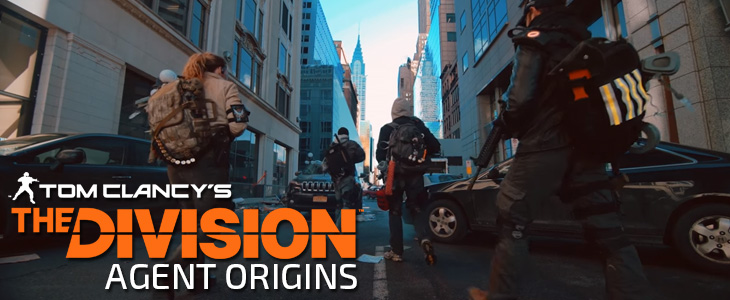 Tom Clancy The Division Agent Origins