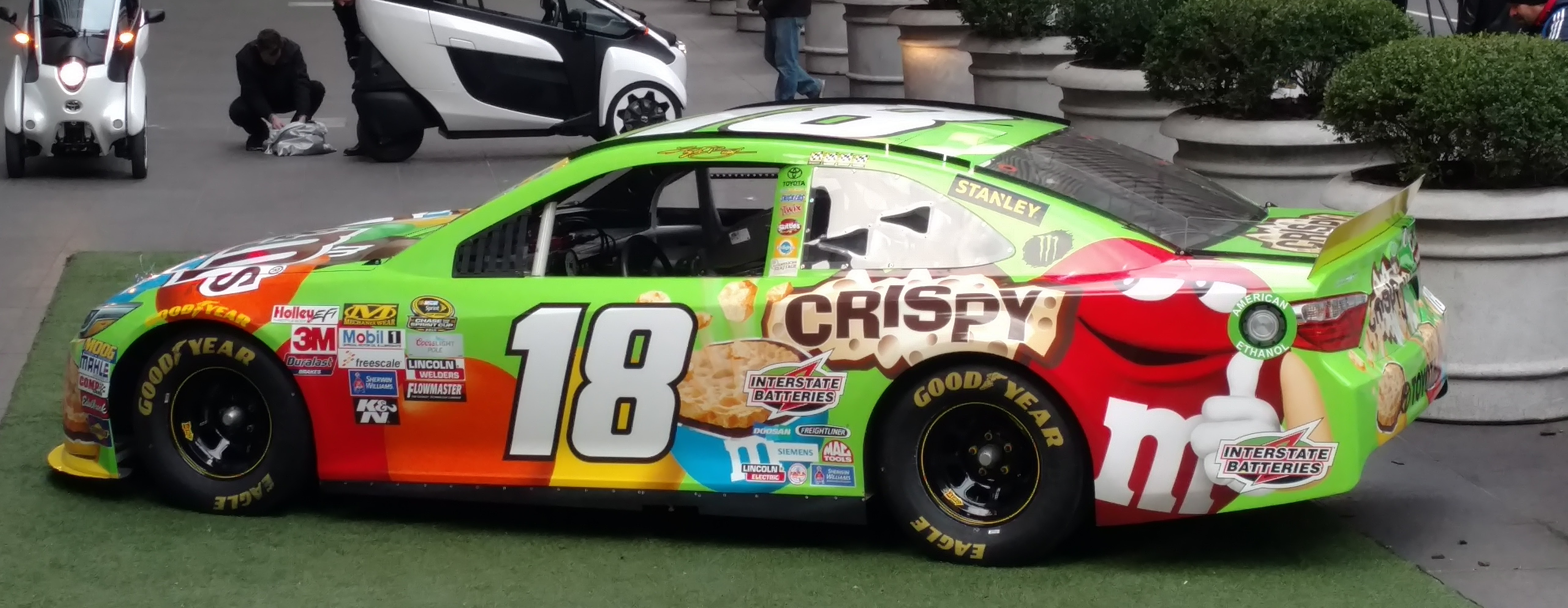 Nascar 2016 aviously - Pictures of kyle busch s car ...