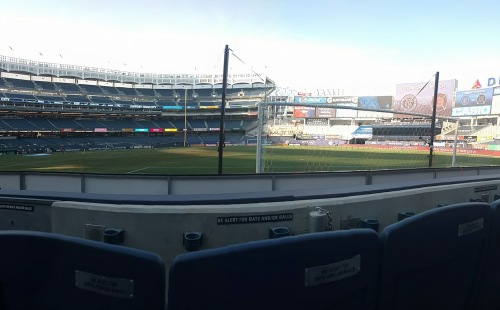 NYCFC Champions Club Seats 003 Row 2