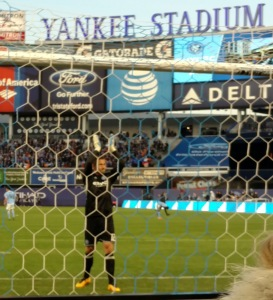 NYCFC Josh Saunders Hello