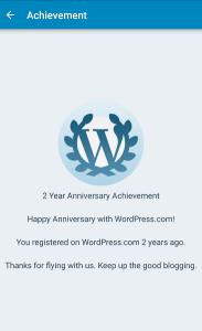 2 Year Milestone