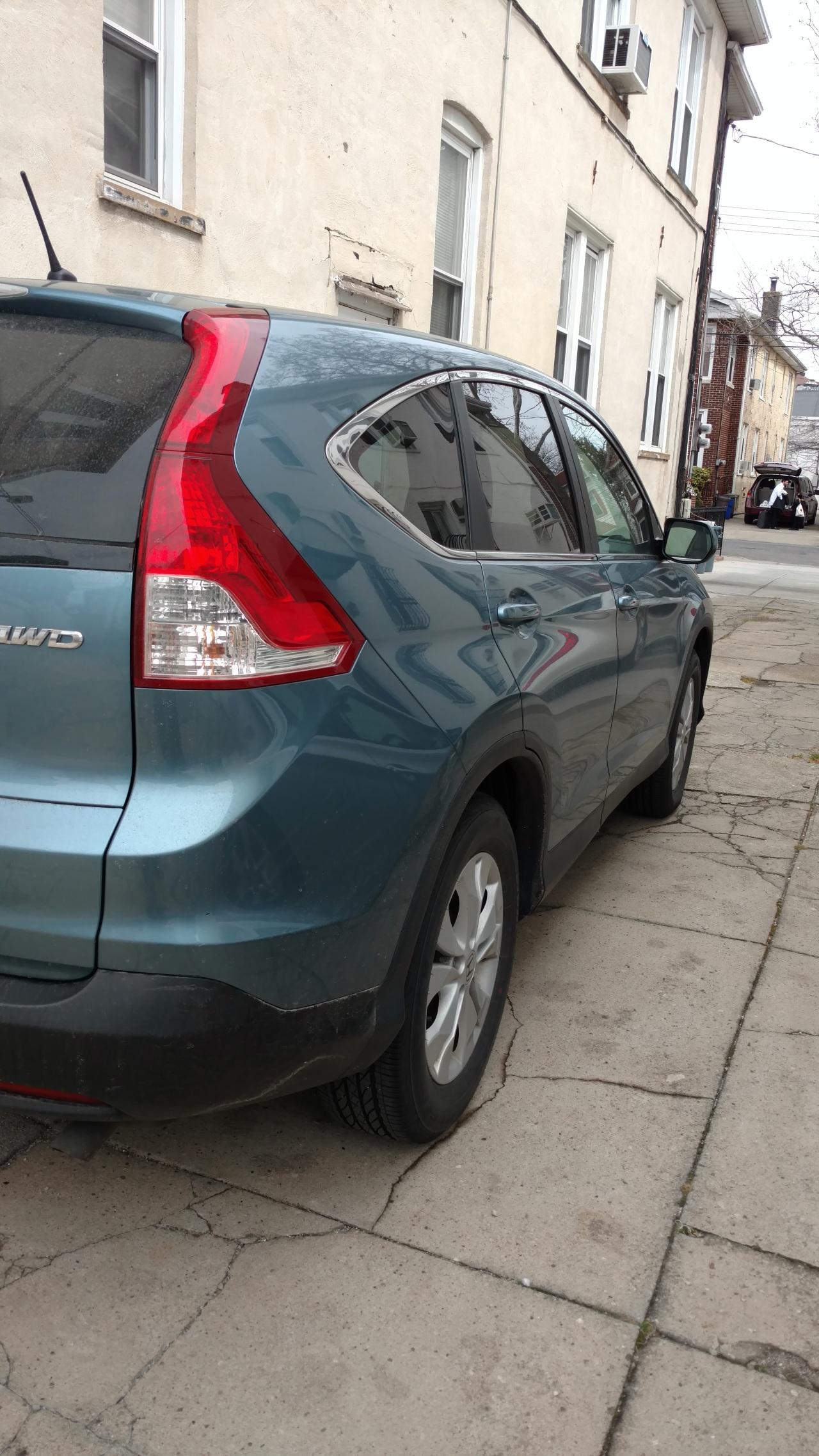 Honda CRV April 2016
