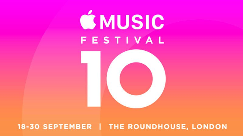 Apple Music Festival 10 Poster