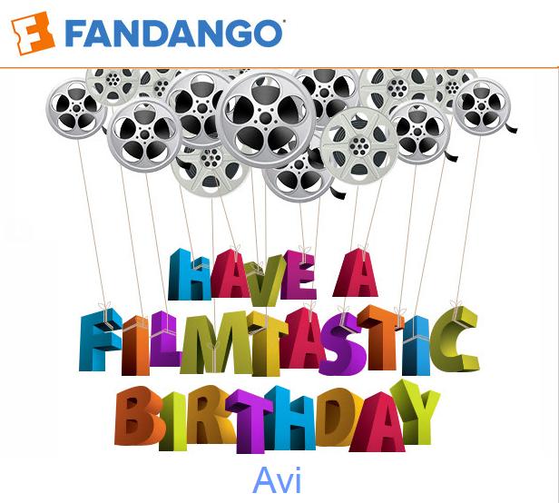 Fandango Birthday 2016