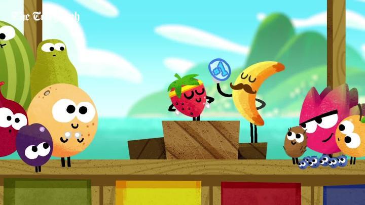 Google Fruit Games Olympics