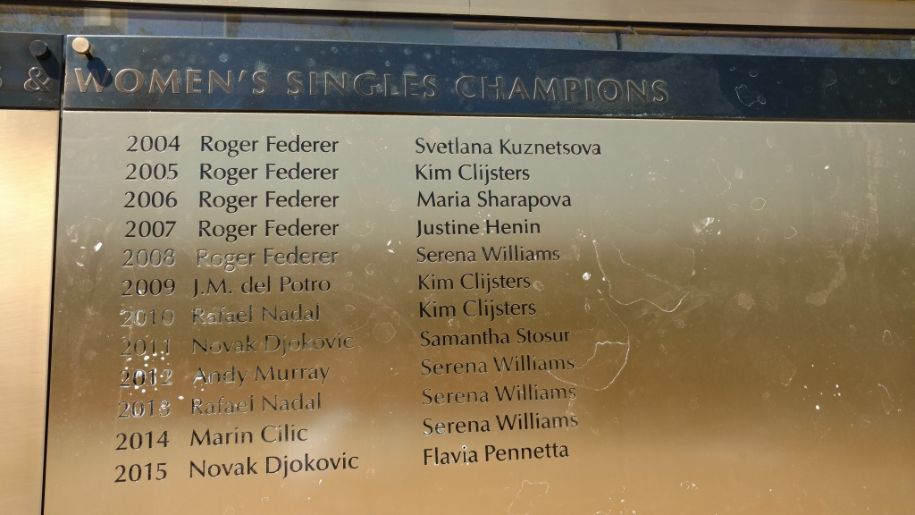 US Open Winners List