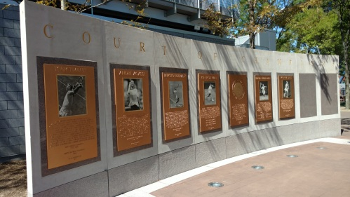 US Open Wall of Fame