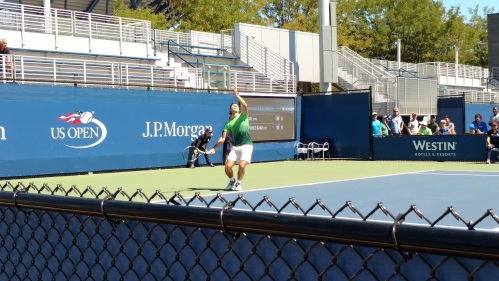 US Open Action Shot 1