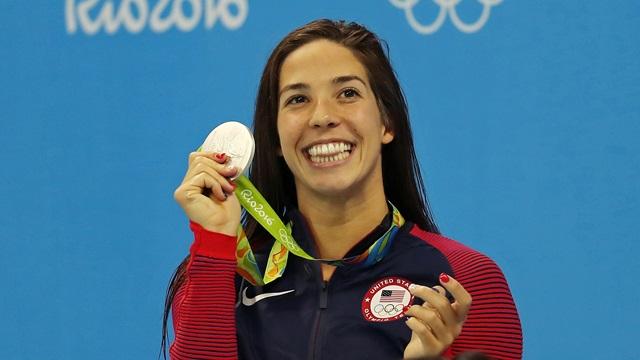 Maya Dirado wins gold 2