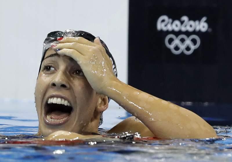 Maya Dirado wins gold