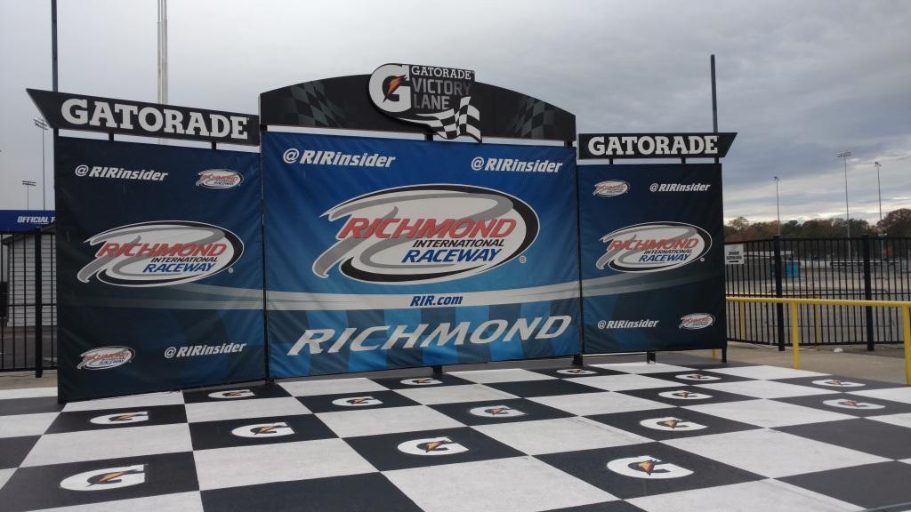 Richmond International Raceway Victory Lane