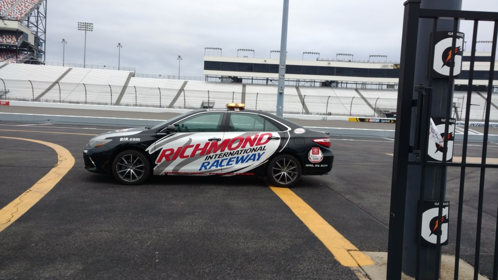 Richmond International Raceway Pace Car