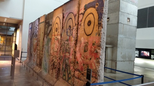 Newseum Berlin Wall