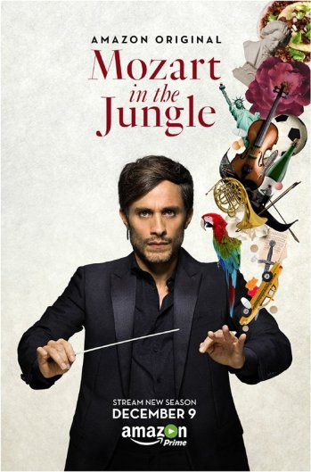 Mozart in the Jungle Season 3 Poster