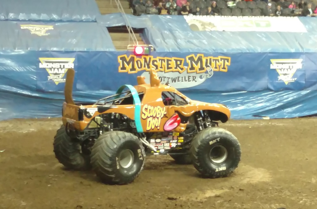 Monster Jam 2017 Scooby Doo