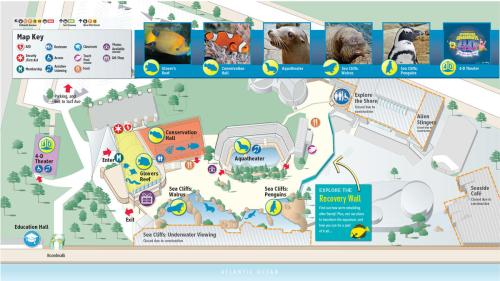 NY Aquarium Recovery Map