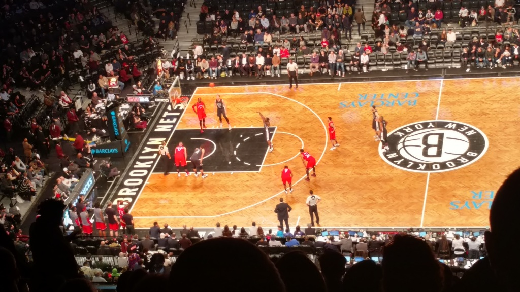Nets Raptors 2-5-17 Barclays Center