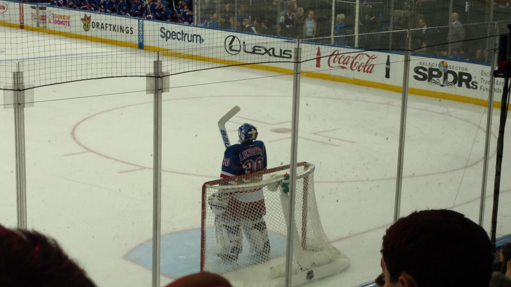 Lundqvist - Rangers vs Capitals 2-28-17